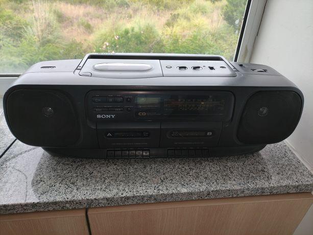 Rádio CD Sony CFD-100L