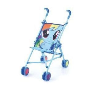 Wózek dla lalek My Little Pony Rainbow Dash marki Hauck