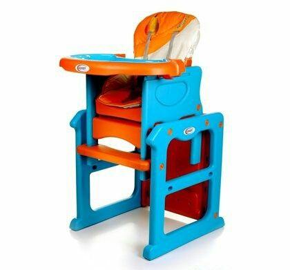 NOWE krzesełko do karmienia 4baby stoliczek 2w1 + GRATIS