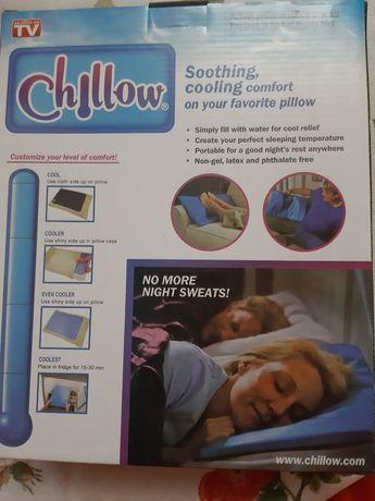 Охлаждающая подушка для сна