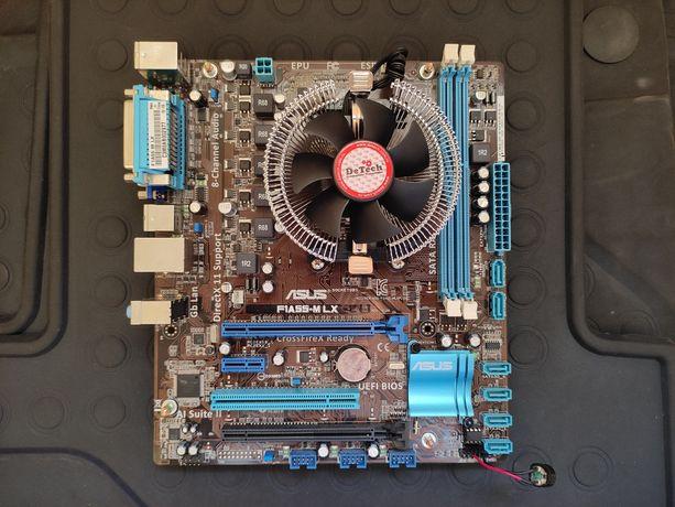 Комплект AMD F1, плата и ЦПУ