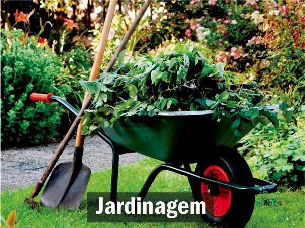 Limpeza de jardins e terrenos