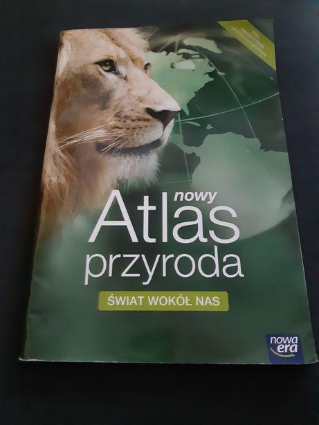 Atlas przyroda świat wokół nas Nowa Era