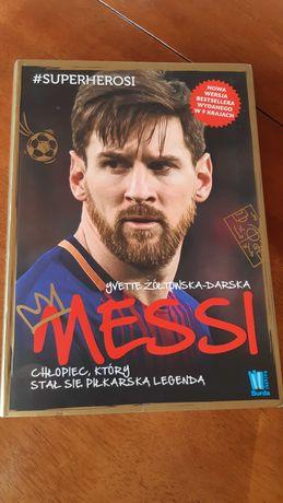 Książka Leo Messi stan idealny