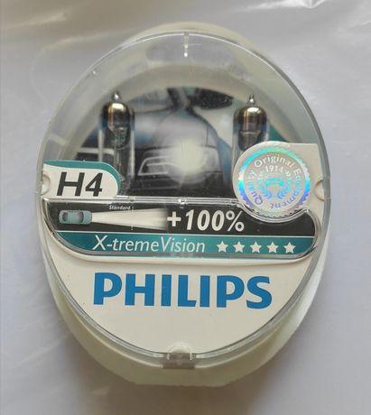 галогенные лампы philips 12342xvs2 h4 x-tremevision