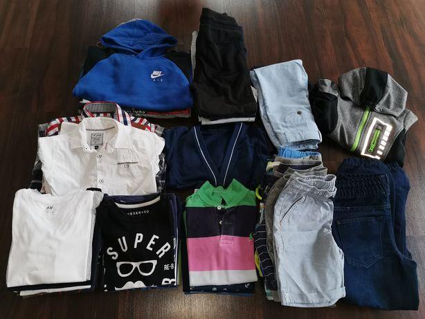 Paka ubrań chłopięcych 122-128