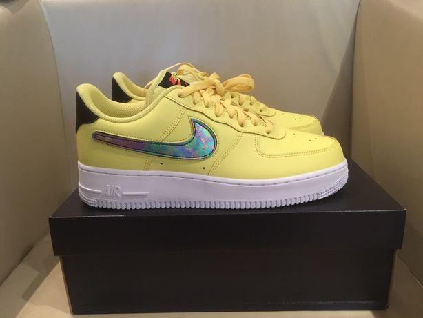 Nike Air Force 1 renewable swoosh
