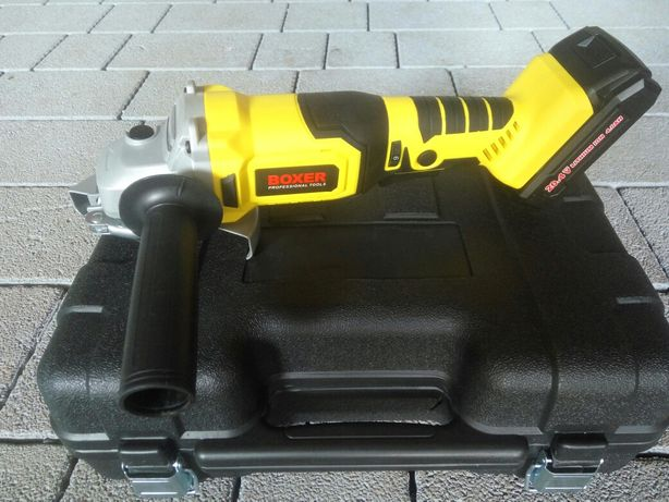 Szlifierka kątowa kątówka BOXER akumulatorowa 125mm nowa