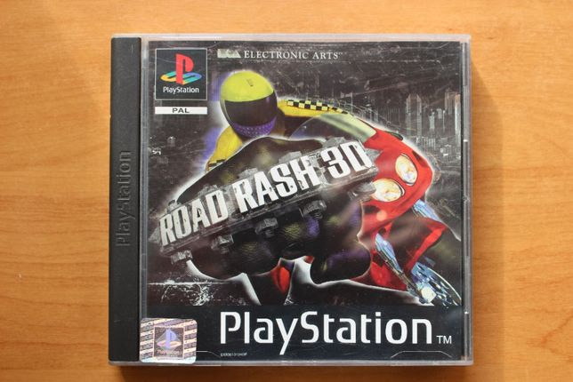 Gra Road Rush 3D Unikat ps1,psx,ps one