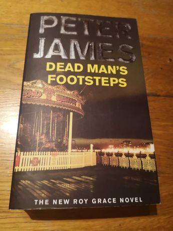 """Peter James """"Dead Man's Footsteps"""""""