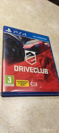PlayStation 4 PS4 DriveClub, w pełni sprawna gra wyścigi.