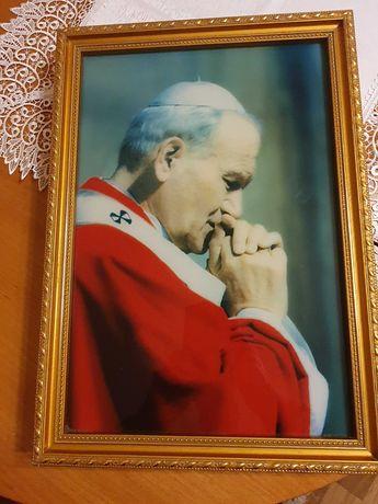 Obraz ikona Jan Paweł II