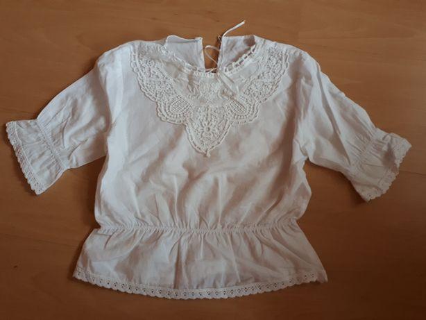 Biała bluzeczka rozm.122/128
