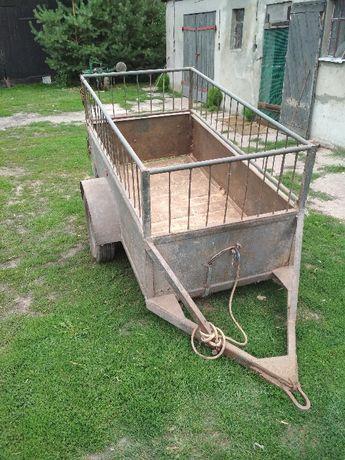 Wózek rolniczy jedoosiowy
