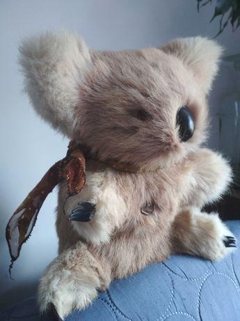 Prezent stara pozytywka zabawka miś koala