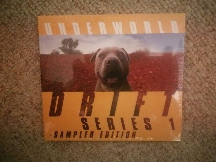 Underworld-Drift series 1-sampler edition-poszukiwany album CD Warszawa - image 1