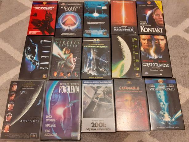 Kasety VHS Zestaw S-F