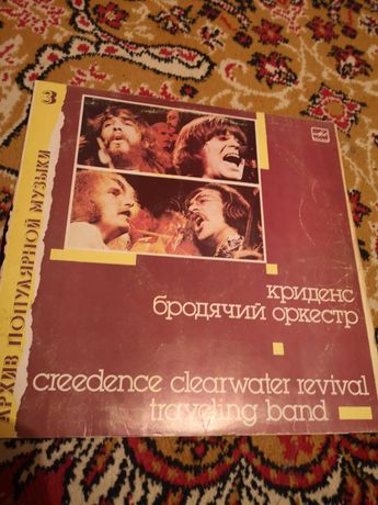 Płyta winylowa creedence clearwater revival traveling band