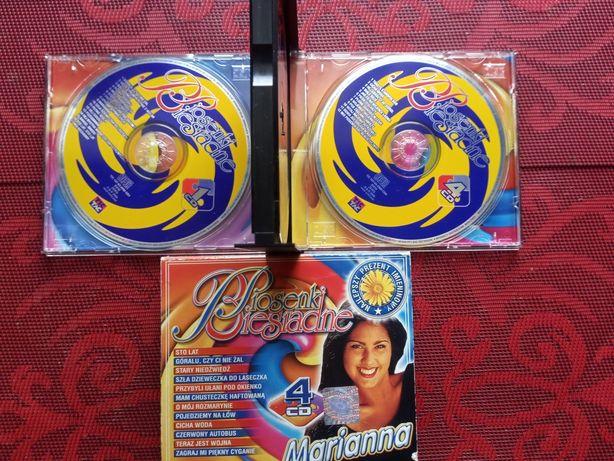 Piosenki biesiadne - zestaw 4 płyt CD