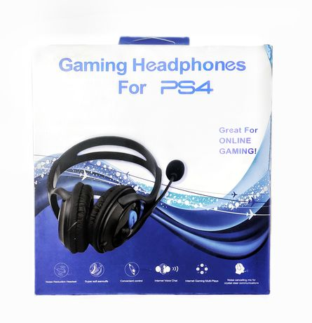 Headphones Gaming para PS4 Novos