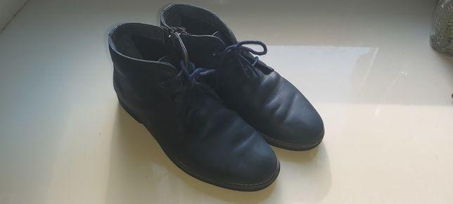 Ботинки Турция демисезон кожаные 34 размер 20,5 см