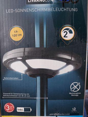 Светильник зонтичное освещение безпроводное Led LIVARNOLUX HG 06727