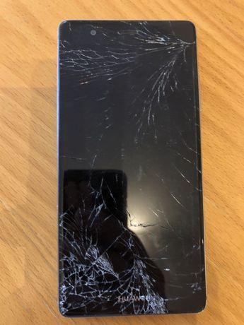 Huawei P8 uszkodzony ekran, rozbita szybka