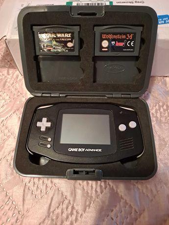 Gameboy Advance IPS V2 w oryginalnym futerale