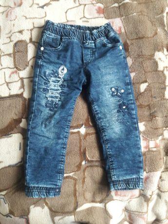 Зимние джинсы для девочки.