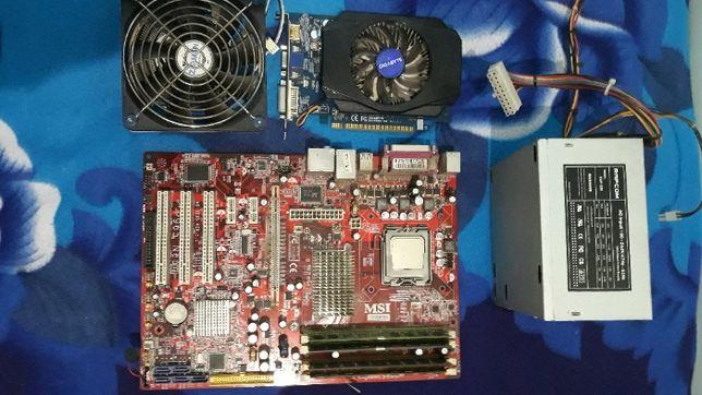 Сборка материнская плата (сборка) сокет 775 MSI P965 Neo