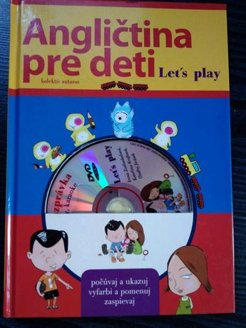 Книга, учебник на английском, с диском для детей