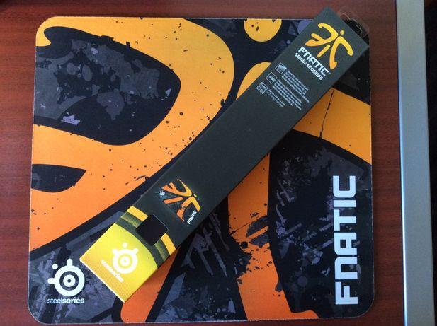 Tapete SteelSeries QcK+ Fnatic Asphalt Edition