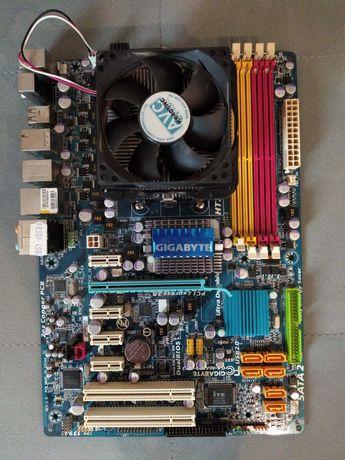 Płyta Gigabyte GA-MA770-UD3 + procesor Athlon 5400+ i chłodzenie