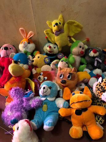 Мягкие детские игрушки с этикеткой, набор 12 штук 100 гривен