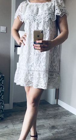 Koronkowa sukienka hiszpanka