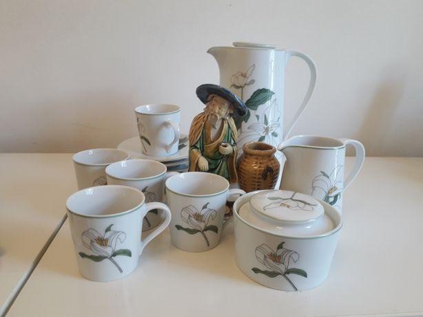 Serviço de café 1980s, porcelana Spal. Block Spal,