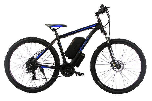 """Электровелосипед алюминиевый MTB GT 27,5"""" 48V 16Ah 500W черно-синий"""