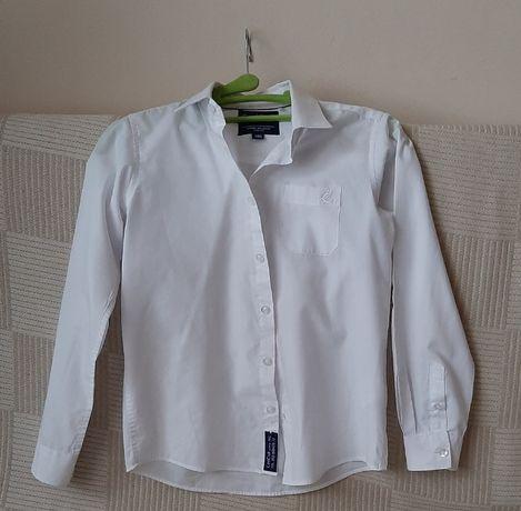 Koszula biała 146 cool club smyk długi rękaw