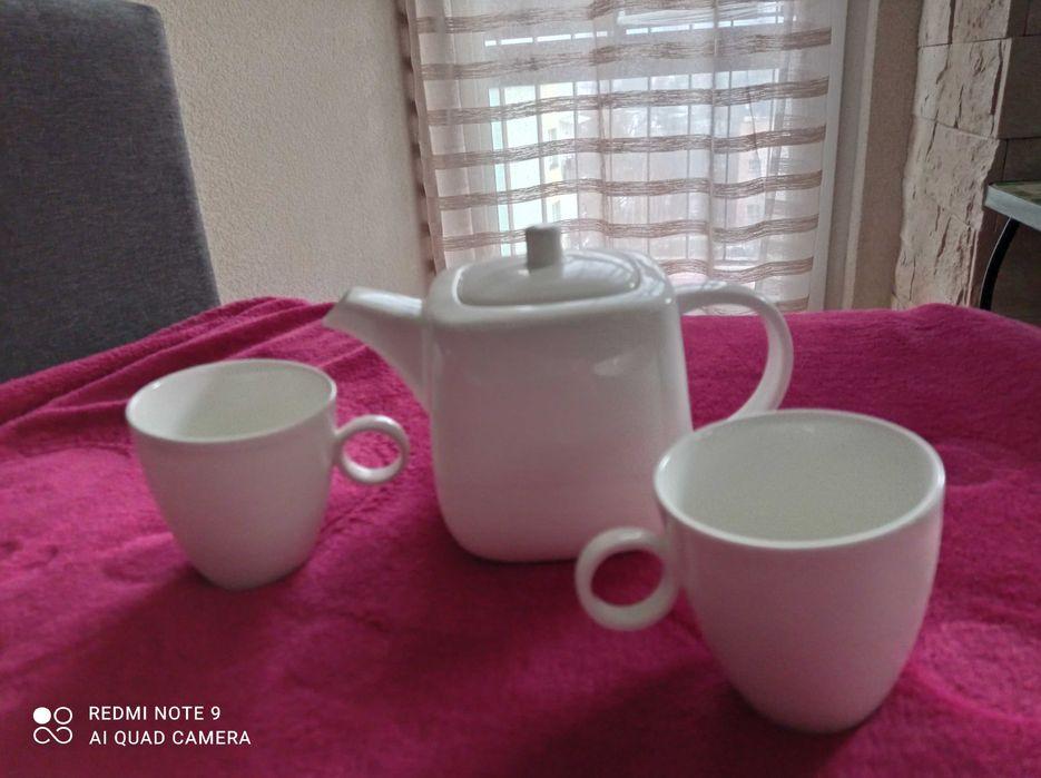 Komplet porcelanowy do kawy/herbaty Villa Italia, 2+1, nowy Bielsko-Biała - image 1