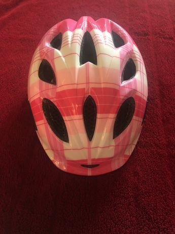 Kask na rower, kask dla dziewczynki