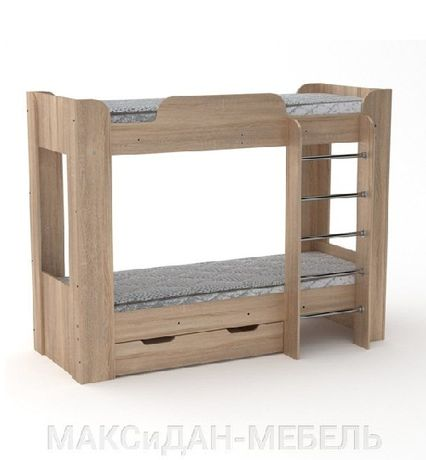 Кровать двухъярусная Твикс-2 в наличии МаксиДан-Мебель