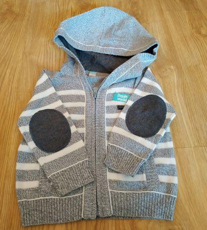 Sweterek rozpinany CoolClub dla chłopca rozmiar 80