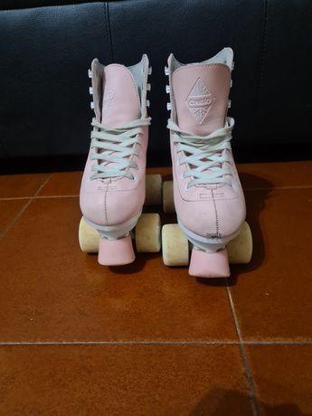 Vendo patins de criança usados n 36