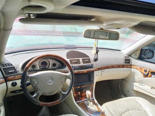 Mercedes W211 разборка Запорожье розборка Салон, карты