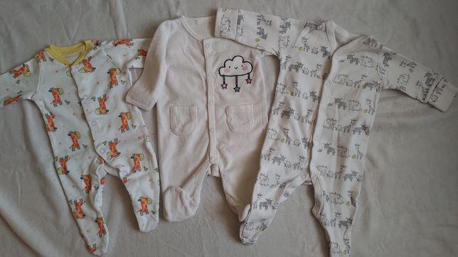 Pajac / pajacyk niemowlęcy, r. 50-56