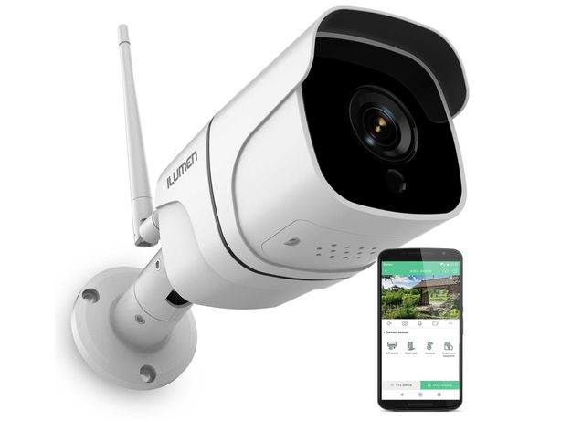 Kamera zewnętrzna WiFi Full HD 2Mpx 1080p Ilumen Cam-X5 (5007)