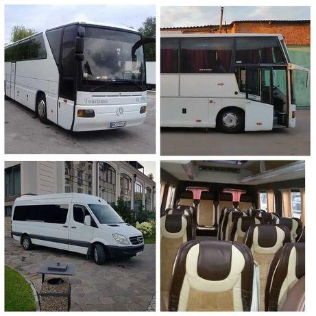 Замовлення автобусів 21-37-55 місць. Пасажирські перевезення Ужгород
