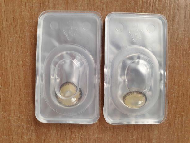 Kolorowe soczewki kontaktowe (-2,00 i -1,75)
