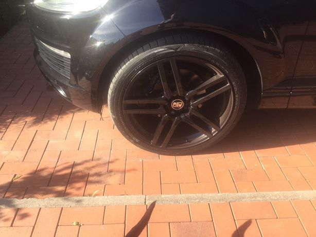 """Koła 22"""" Audi Q7 Porsche Cayenne Touareg , stan bdb"""