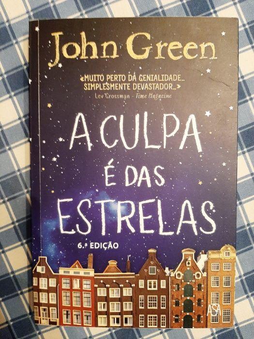 A Culpa É Das Estrelas - John Green Albergaria-A-Velha E Valmaior - imagem 1